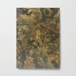 Geological camo Metal Print