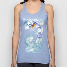 In the Clouds Unisex Tank Top