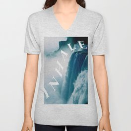 inhale Unisex V-Neck