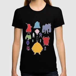 Donquixote Family Silhouette T-shirt