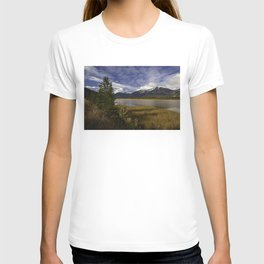 Walking with her head in the clouds T-shirt