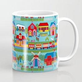 Around Town Bright Coffee Mug