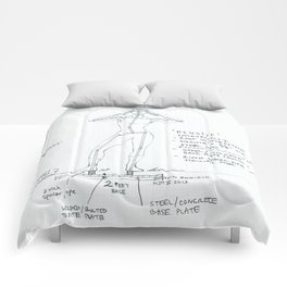 Pensive Drawing, Transitions through Triathlon Comforters