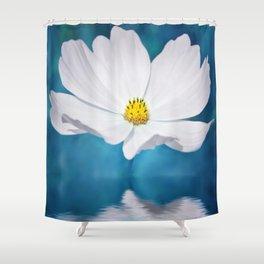 Cosmea Shower Curtain