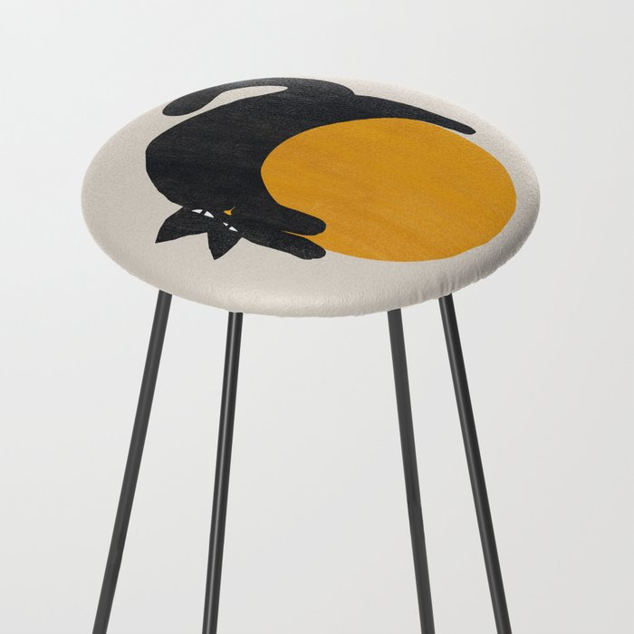 Cat with ball Counter Stool