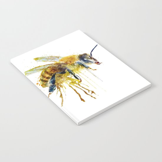 Watercolor Bee by marianvoicu