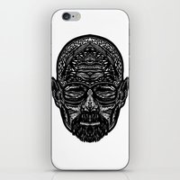walter white iPhone & iPod Skins featuring Walter White by Jamie Bryan