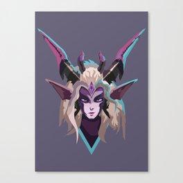 Dragon Sorceress Zyra Canvas Print