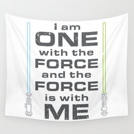 Force is with Me - Both Wall Tapestry