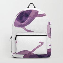 Jellyfish inspired illustration Backpack