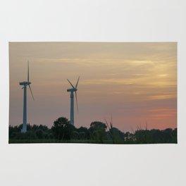 ad solis occasum ventus turbines ab Horumersiel Rug