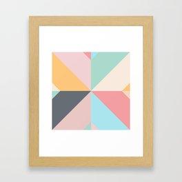 Geometric Pattern II Framed Art Print