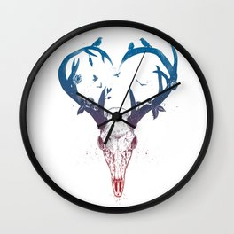 Neverending love Wall Clock