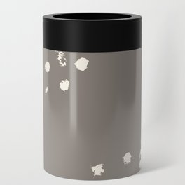 Dappled Hide in Taupe Can Cooler