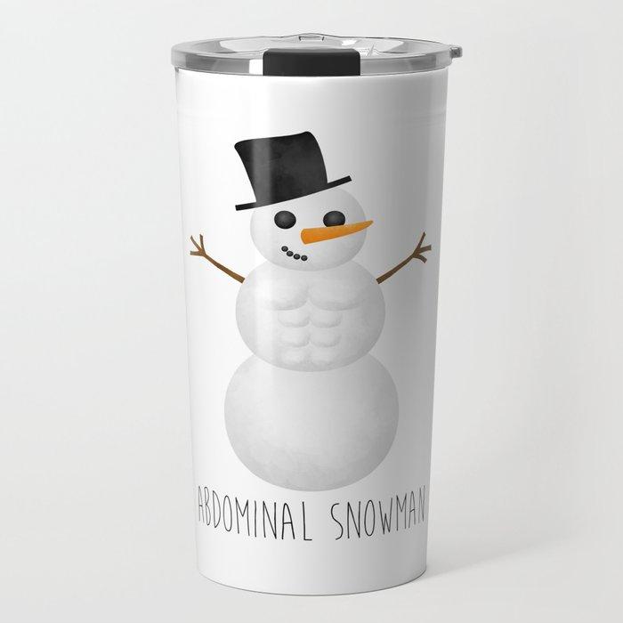Abdominal Snowman Travel Mug