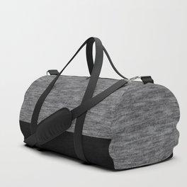 Athletic grey and black Duffle Bag