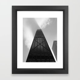 The John Hancock Tower Framed Art Print