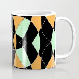 Blackish Abstract Mandala Coffee Mug