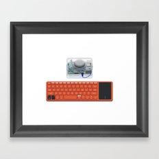 Kano Computer Kit Framed Art Print