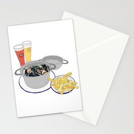 Mussels frm Brussels Stationery Cards