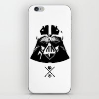 darth iPhone & iPod Skins featuring Darth. by Glassy