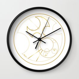 Hello Sweetie from Gallifrey Wall Clock