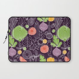 Vegetable Pattern Scandinavian Design Laptop Sleeve
