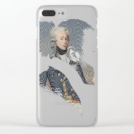 America's Favorite Fighting Frenchman Clear iPhone Case