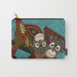orangutans blue Carry-All Pouch