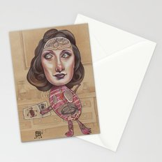 ANATOMY LESSON Stationery Cards