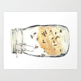 Captives: The Bee Jar Art Print