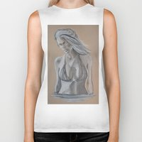 brooklyn Biker Tanks featuring Brooklyn by Swan_Art88
