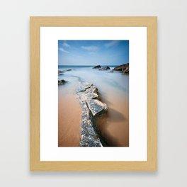 Gullaine Bents Coast Framed Art Print