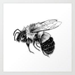 Astral Creature: Bee Art Print