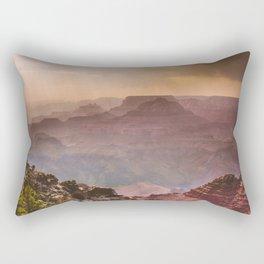 Grand Canyon Rainfall - South Rim Rectangular Pillow