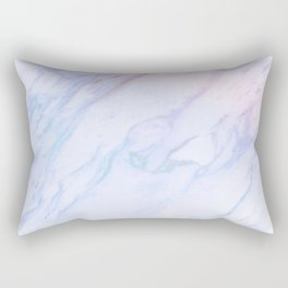 cotton candy marble Rectangular Pillow