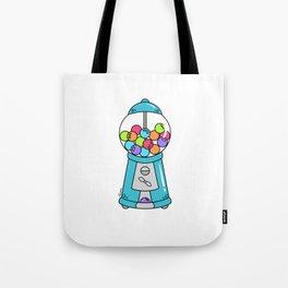 Happy Nostalgic Gum Ball Machine Tote Bag