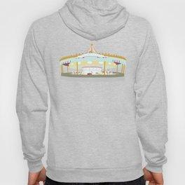 Carousel - white background Hoody