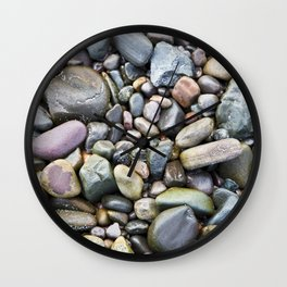 Pebbles -2- Isle of Skye Wall Clock