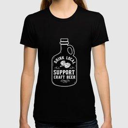 Craft Beer Craft Beer Drinker Ipa Beer Microbrewing T-shirt