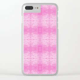 182 - light trails abstract pattern Clear iPhone Case