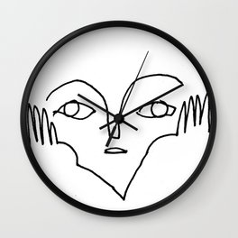 l'attente II Wall Clock