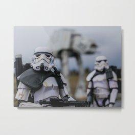 Sandtrooper Patrol #1 Metal Print