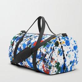 Frenzy in Blue Duffle Bag