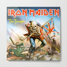 iron the troopers maiden 2020 Metal Print
