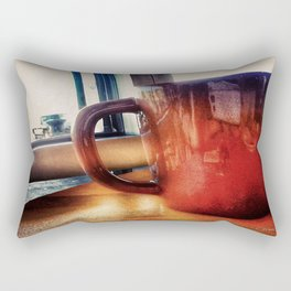Coffee Please! Rectangular Pillow