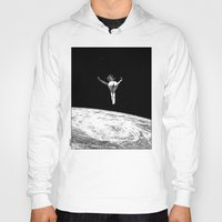 apollonia Hoodies featuring asc 579 - Le vertige (Gaze into the abyss) by From Apollonia with Love