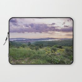 Amazing sunset over the Ciovo island, Croatia Laptop Sleeve