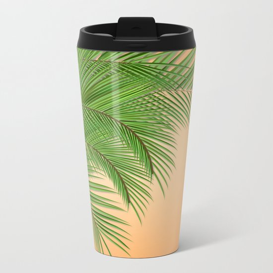 PALM TREE Metal Travel Mug