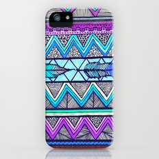 Two Feathers (color version 3) Slim Case iPhone (5, 5s)